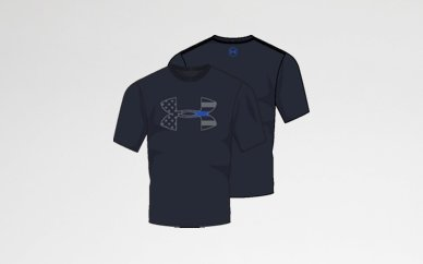 Under Armour - Thin Blue Line T-Shirt
